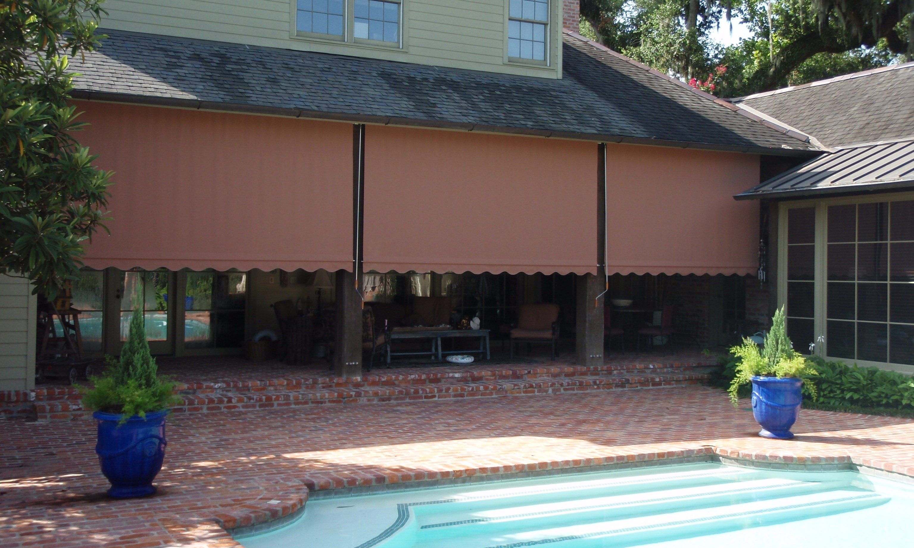 for island long awnings awning aluminum home patios info everythingbeauty lowes metal patio decks