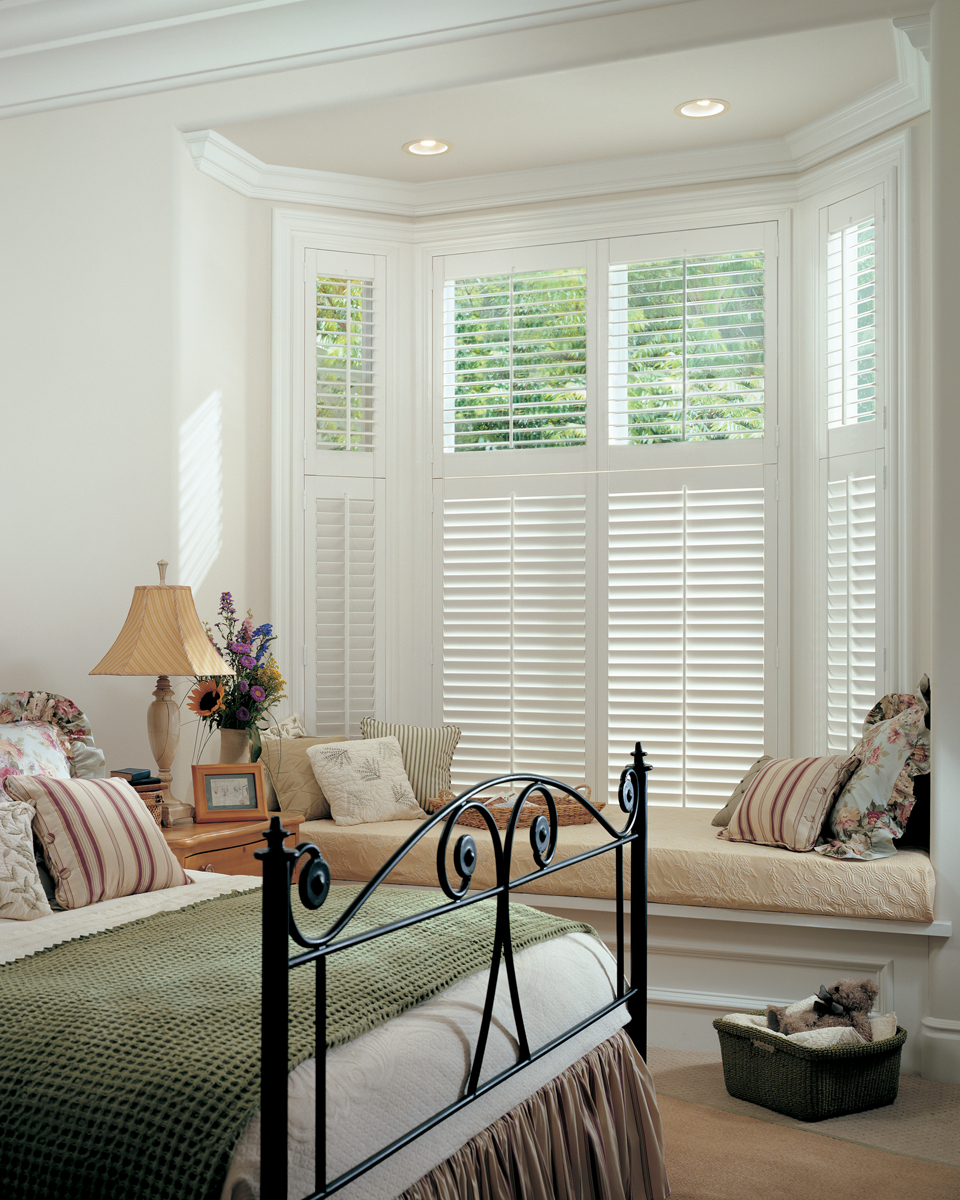 Window treatments plantation shutters awnings lafayette for Window shutter designs