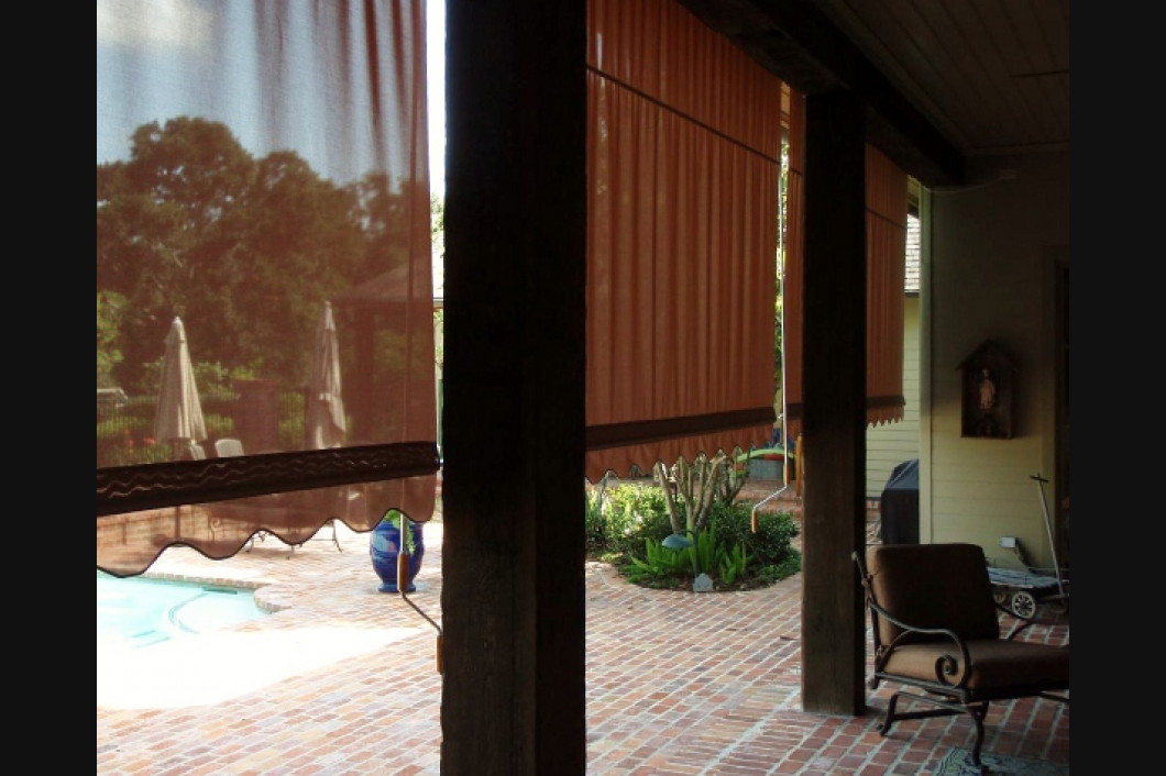 exterior window treatments Louisiana